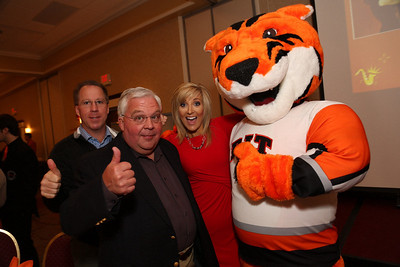 RIT Alum Liz Bonis with a few friends & RITchie
